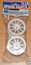 Tamiya 50732 10-Spoke One-Piece Wheels (1 Pair) (Lancer Evo VI/Jaccs Accord) NIP
