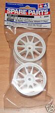 Tamiya 50732 10-Spoke One-Piece Wheels (1 Pair) (Lancer Evo VI/Jaccs Accord) NIP