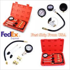 Automotive Motorcycles Petrol Engine Cylinder Compression Tester Gauge Tool Kit