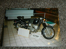 OLD VINTAGE MOTORCYCLE PICTURE PHOTOGRAPH BMW BIKE #2