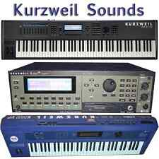 Kurzweil K2000, K2500, K2600, K2661, PC3K8 - Largest Sound Collection