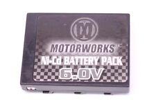 Original Motorworks 6.0V Ni-Cd Battery Pack for 6.0 Volt R/C Toy Car