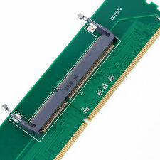 1x DDR3 Laptop SO-DIMM to Desktop DIMM Memory RAM Connector Adapter DDR3 New ji