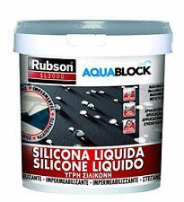 Silicone Henkel Rubson Sl3000 liquido Grigio Kg. 5