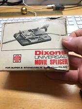 Dixons Universal Movie Splicer kit for Super 8 & 16cm Films