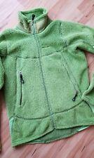 Tolle Patagonia Jacke Sweater Jacket, Apfelgrün, S