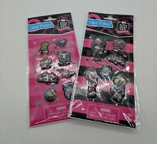 Monster High Liquid Stickers Lot of 2 Packs  SET 1