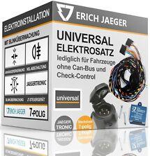ELEKTROSATZ E-SATZ 7-polig für Anhängerkupplung UNIVERSAL MIT BLINKÜBERWACHUNG