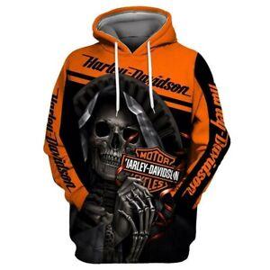 New Unisex Loose Pullover Hoodie Sweater Baseball Uniform 3D Printing