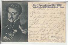 Kleinformat Ansichtskarten vor 1914 mit berühmter Persönlichkeit