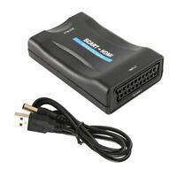 Scart zu auf HDMI Konverter Wandler Converter Adapter 1080P HD TV DVD USB Kabel
