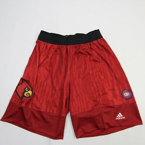 Louisville Cardinals adidas Practice Shorts Men's Red New with Tags