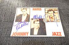 JOHNNY HATES JAZZ signed Autogramm auf 13x18 cm Foto InPerson LOOK