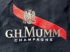 Mumm Champagne Bartender Waiter Sommelier Black Apron