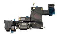 Docking port für iPhone 6 schwarz/grau + Kopfhörerbuchse Mikrofon USB Lightning