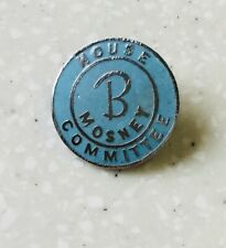 More details for scarce butlins pale blue mosley house committee badge