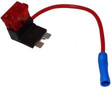 Adaptateur de repiquage pour fusibles auto midi 10A 1mm² alimentation 12V/24V