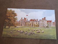 Kent postcard - Penshurst place - Nr Tunbridge Wells