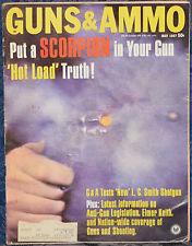 Vintage Magazine GUNS & AMMO May 1967 !!! L.C. SMITH SHOTGUN !!!