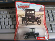 Disney Cars LIZZIE Original Desert 12 back  NO LOGO with FORD SQUARE LOGO