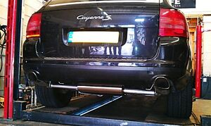PORSCHE CAYENNE 955,TURBO,TURBO S,STAINLESS STEEL EXHAUST,CUSTOM EXHAUST,FITTED!