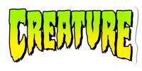 Creature Skateboard Sticker - New sk8 skate board monster skate snow surf board