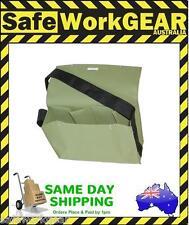ST 400 Canvas Tool Gear Work Crib Heavy Duty Bag Green with shoulder strap
