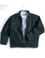 2 Men's Heavyweight Cotton Canvas Jackets Embroidered WUrCoName &BackDesign