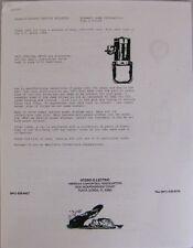 1946 1947 1948 Mercury Convertible Top Pump Manual