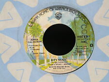 JORGE CALDERON City music / friends again / dawning song WBS 8197 USA