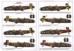 Xtradecal 1/72 X72133 Handley Page Halifax B Mk II/III Decals  RAF/Free French