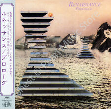 RENAISSANCE PROLOGUE CD MINI LP OBI Yardbirds Annie Haslam Michael Dunford new