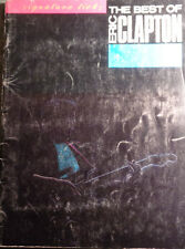 THE BEST OF ERIC CLAPTON HAL LEONARD 1988 - SPARTITI CON COMMENTI A/1045