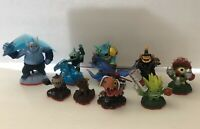 Lot Of 9 Skylanders Trap Team Figures Activision Wii U PS3 Xbox Gusto Snap Shot