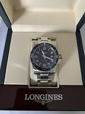 LONGINES HYDROCONQUEST L3.639.4 MENS WATCH.GIFT OF COMPANY.GRAND NEW,NEVER WORN