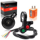 """Motorcycle 7/8"""" Multi-function Turn Signal On Off Light Switch Flasher Horn Set"""