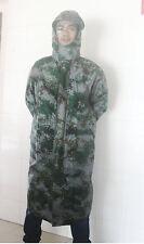 NEW 07's series China PLA Army Combat Digital Camouflage Raincoat