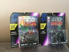 Kenner STAR WARS Shadows of the Empire LOT, BOBA FETT vs IG-88, XIZOR vs VADER