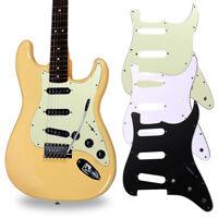 3-ply SSS guitar pickguard for Strat Electric Guitar PVC 0.3cm Anti-scratch