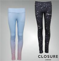Girls Closure London Sport Graphic Print Leggings Sizes Age from 8 to 14 Yrs