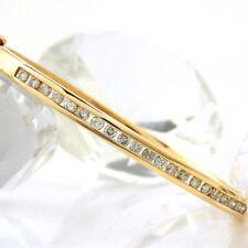 Unbehandelter Echtschmuck aus Gelbgold Armbänder mit P1-Reinheit