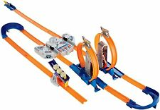 Hot Wheels Track Builder Total Turbo Takeover Race Track Set With 5 Bonus Cars