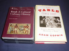 Teaching Co Great Courses CDs    FOOD  Cultural Culinary History     new + BONUS