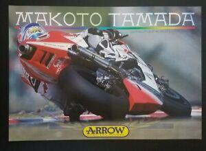 Vintage Poster Original Makoto Tamada 2003 MotoGP Pramac Honda RC211V