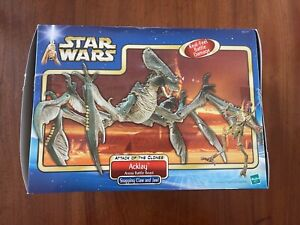 Hasbro Star Wars Saga Acklay Arena Battle Beast 2002