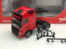 Herpa Volvo FH Globetrotter XL 6x2 SZM 3-achs rot in OVP (Mo3772)