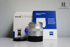 Carl ZEISS Biogon T* ZM 35mm F2.0 Lens (silver) for Leica M / Evil