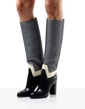 NEW Sergio Rossi Baxter Knee High Boots SIZE 7 RRP£635