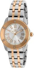 Invicta 20374 Angel Women's 33mm Two-Tone Stainless Steel Silver Dial Watch