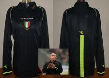 ITALIA UFFICIALE ITALIANO SERIE A CALCIO ARBITRO SHIRT 03/04 DIADORA Collina